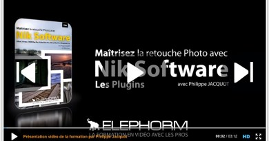 La formation de la semaine : Maîtrisez la retouche Photo avec Nik Software