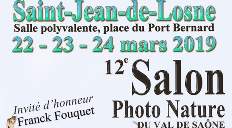 12ème Salon Photo Nature St Jean de Losne