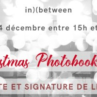 Christmas Photobook Fair - Signature et vente de livres