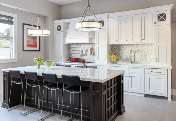 plain and fancy kitchen cabinets Luxury Kitchen Cabinetry & Sympathy for Mother Hubbard