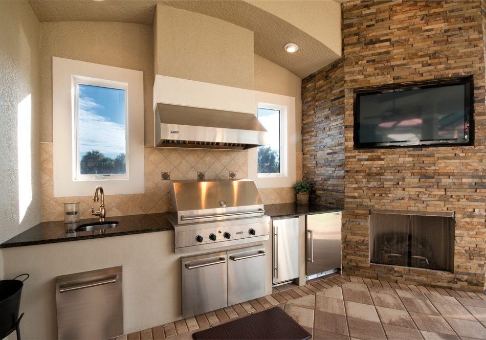 viking outdoor kitchen german knives appliances must haves for your next party hood revuu search excellence in luxury interiors