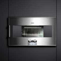 Flush Kitchen Lighting Grey Modern Cabinets Gaggenau - Revuu