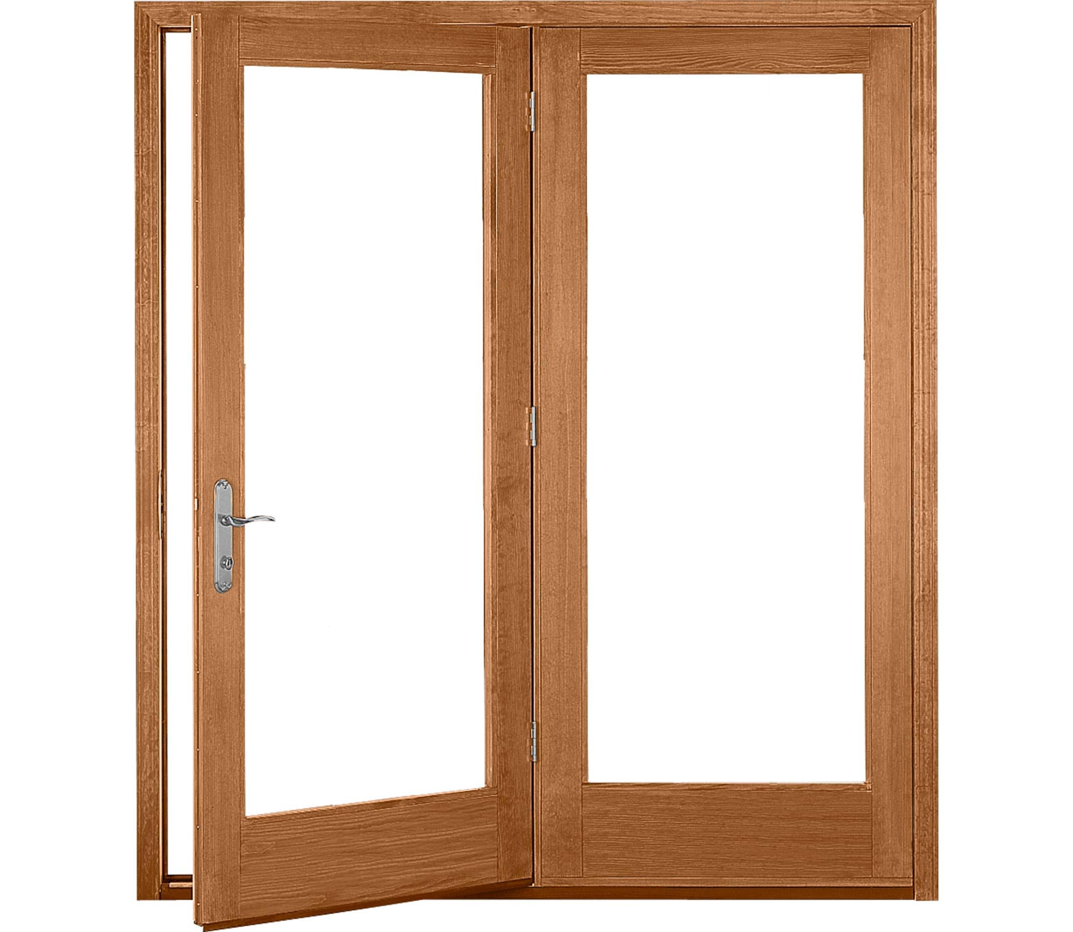 proline 450 series hinged patio door