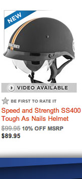 Speed and Strength SS500 Tough as Nails Helmet