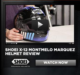 Shoei X-12 Montmelo Marquez Helmet Review