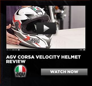 AGV Corsa Velocity Helmet Review
