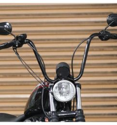 burly handlebar cable installation kit for harley sportster 2007 2013 revzilla [ 2352 x 1648 Pixel ]