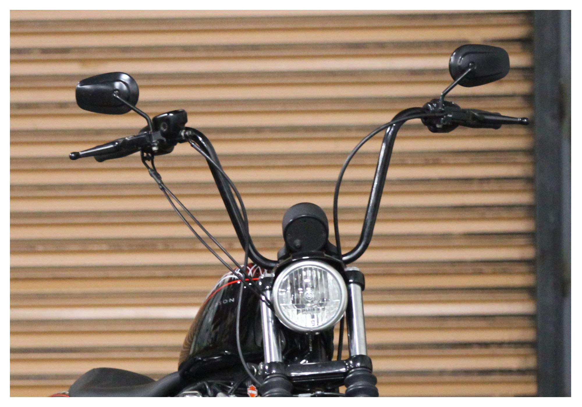 hight resolution of burly handlebar cable installation kit for harley sportster 2007 2013 revzilla