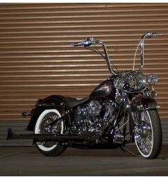 burly handlebar cable installation kit for harley sportster 2007 2013 revzilla [ 3968 x 2672 Pixel ]