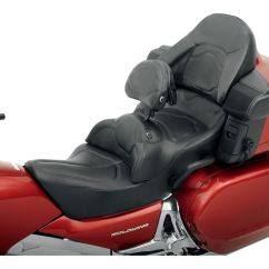 Road Sofa Seat Goldwing Abbyson Living Ashton Leather Saddlemen Honda 2001-2010 - Revzilla