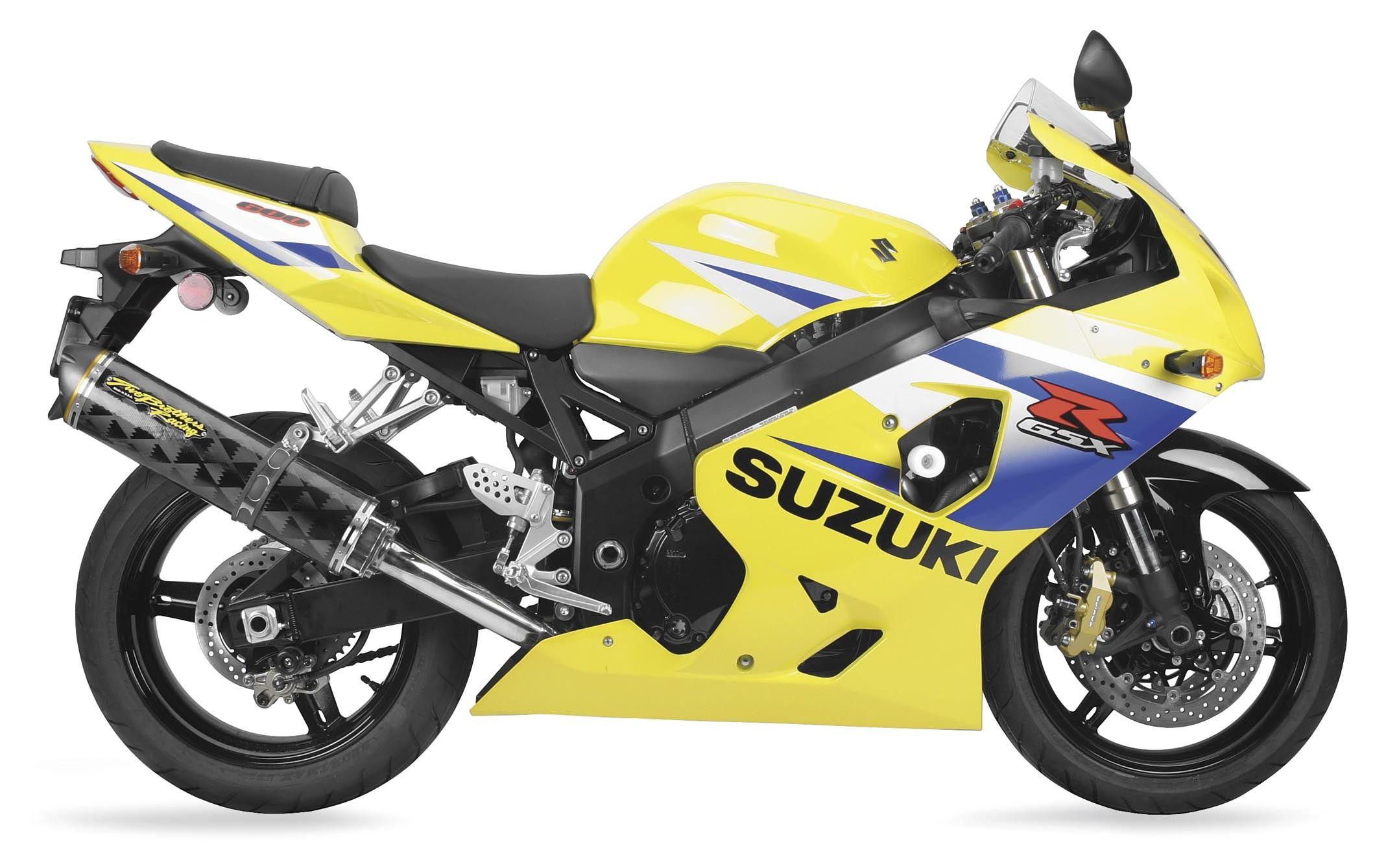 two brothers m2 bolt on exhaust suzuki gsxr600 2001 2005
