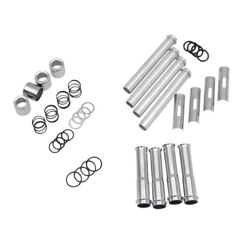 Drag Specialties Pushrod Tube Cover Kit For Harley Twin