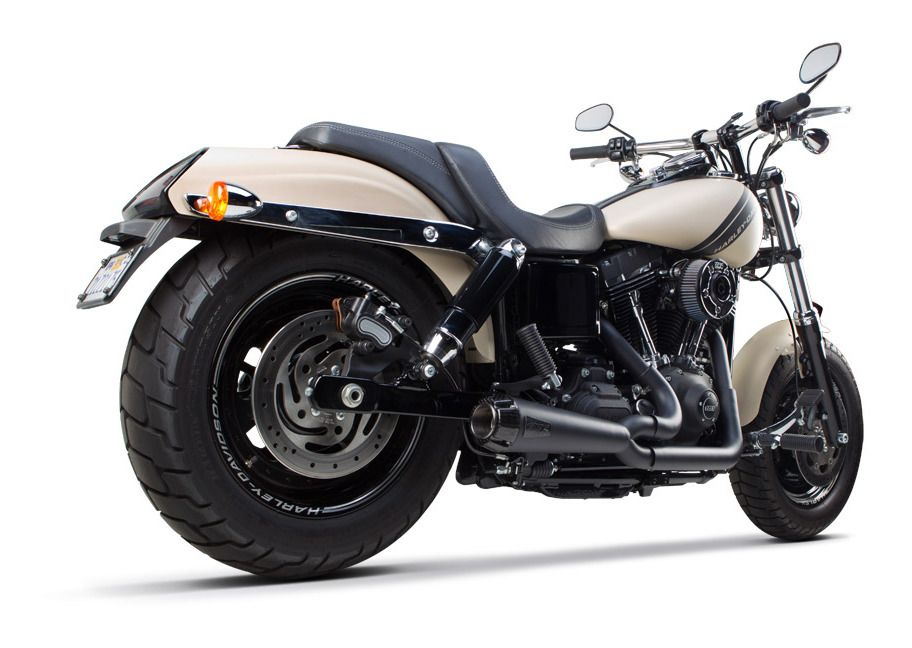 two brothers comp s 2 into 1 exhaust for harley dyna 2006 2017