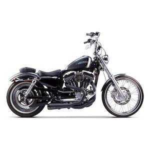 two brothers comp s 2 into 1 exhaust for harley sportster 2004 2013