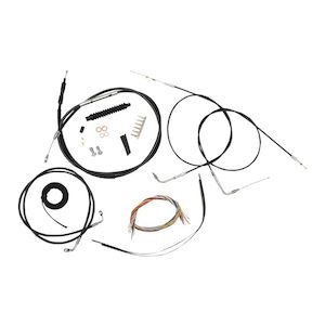 1989 sportster 1200 wiring diagram wye delta starter connection psr anthem adjustable levers for harley 1996 2017 revzilla la choppers handlebar cable brake line and wire kit dyna 2012