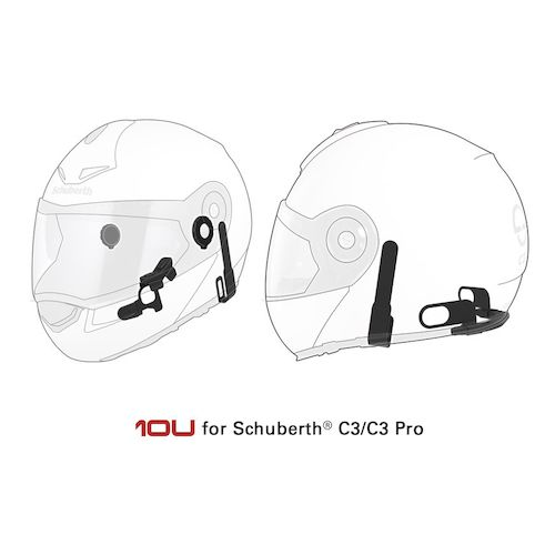 Sena 10U Bluetooth Headset For Schuberth C3 / C3 Pro / E1