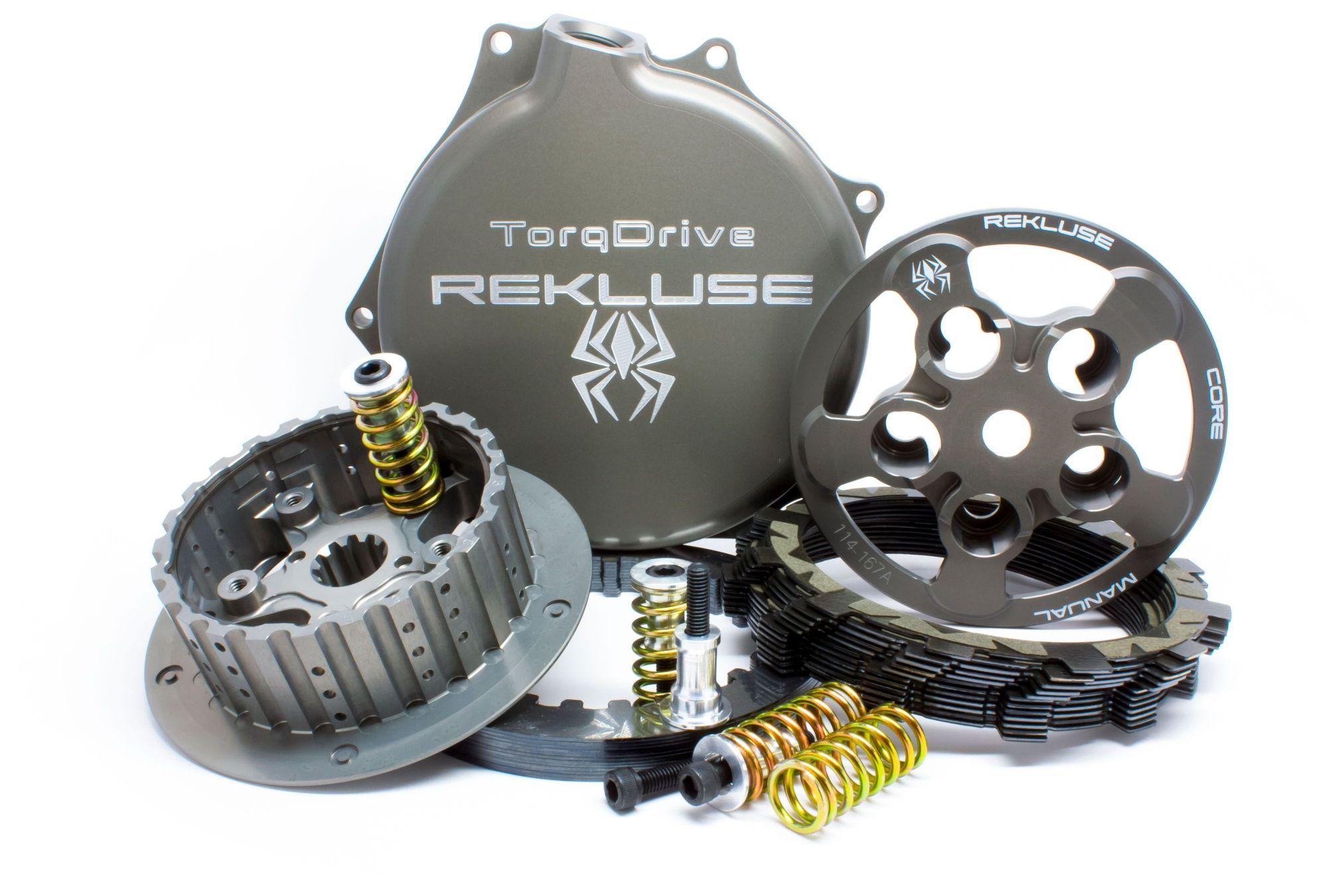 hight resolution of rekluse core manual torq drive clutch kit suzuki rmz 250 2007 2018 revzilla