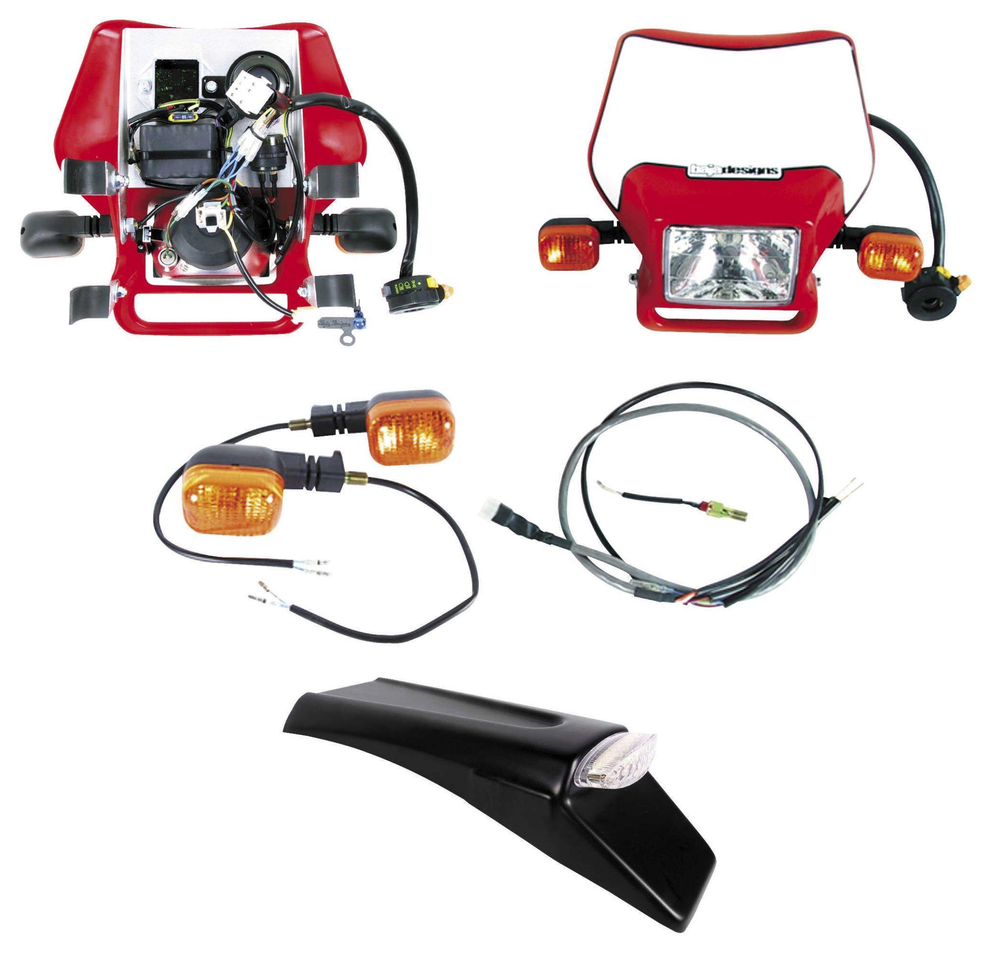 hight resolution of baja designs dual sport kit for electric start honda crf250x crf450x 2004 2016 revzilla