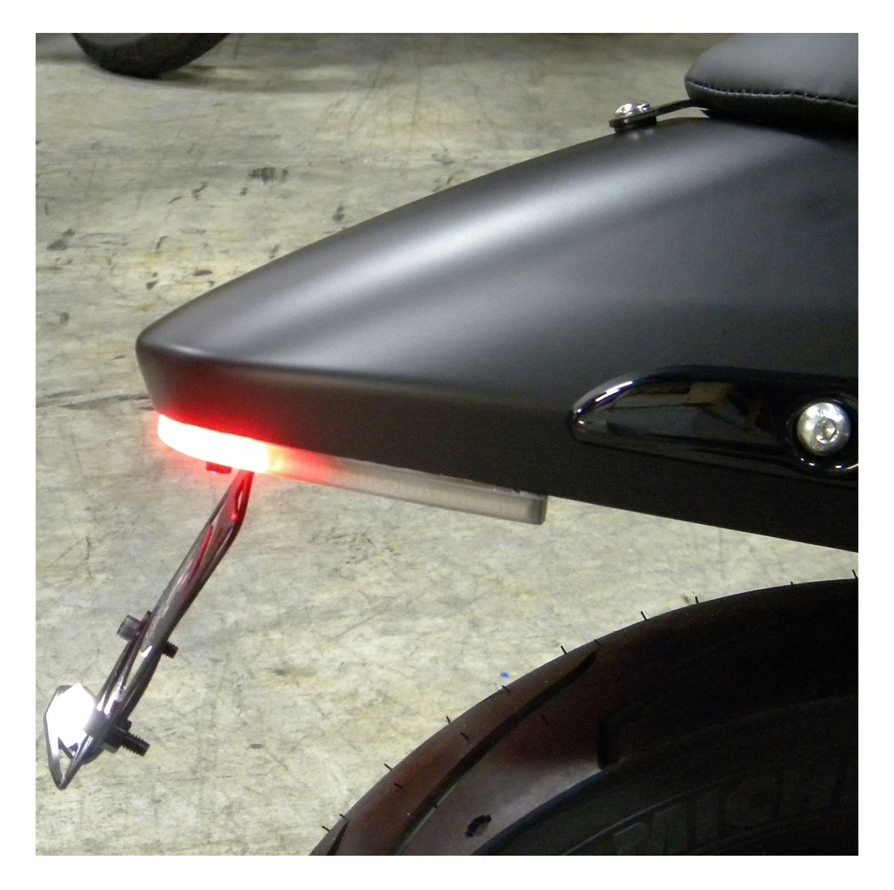 hight resolution of new rage cycles led fender eliminator for harley street 500 2015 2019 revzilla