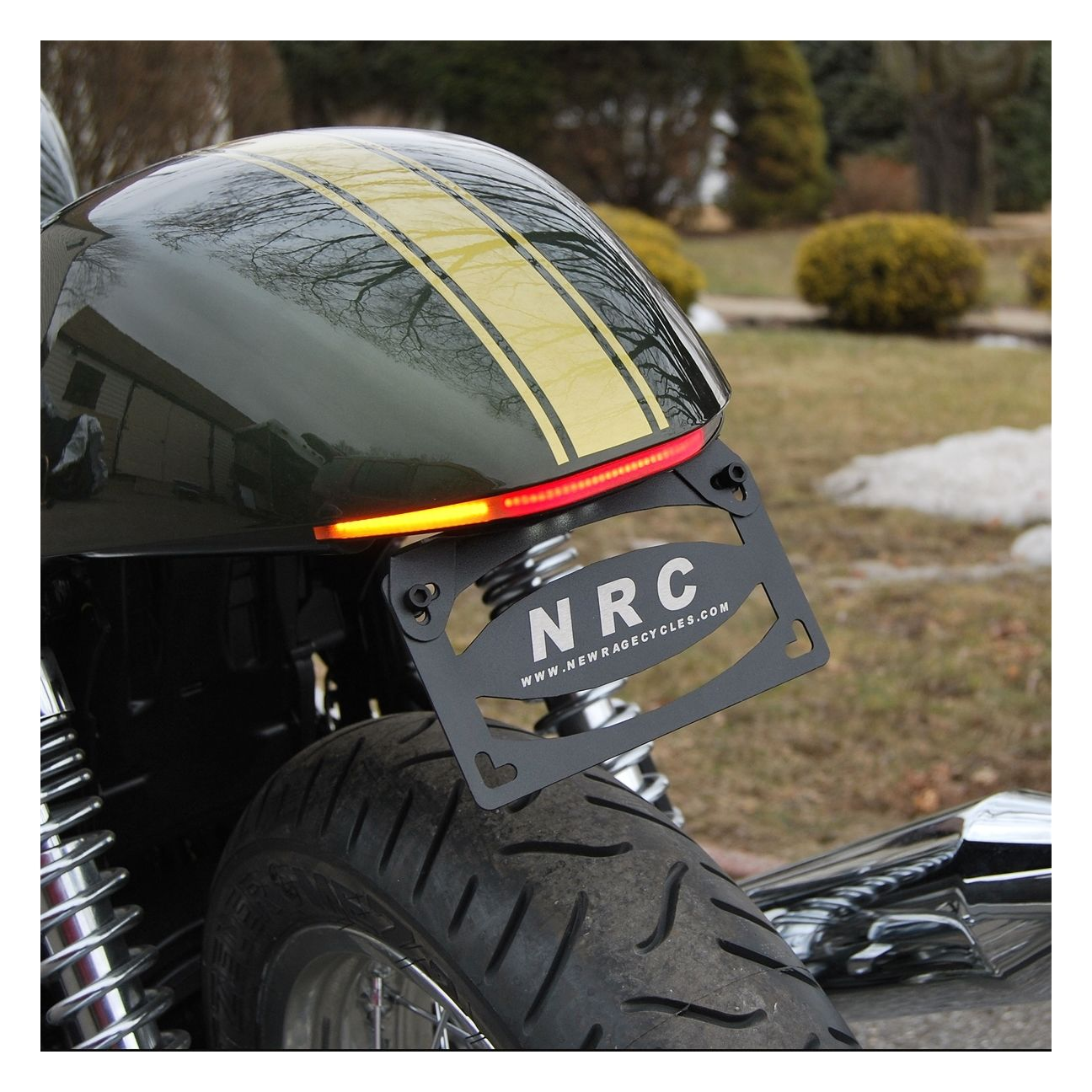 hight resolution of new rage cycles led fender eliminator triumph thruxton 900 2009 2016 revzilla