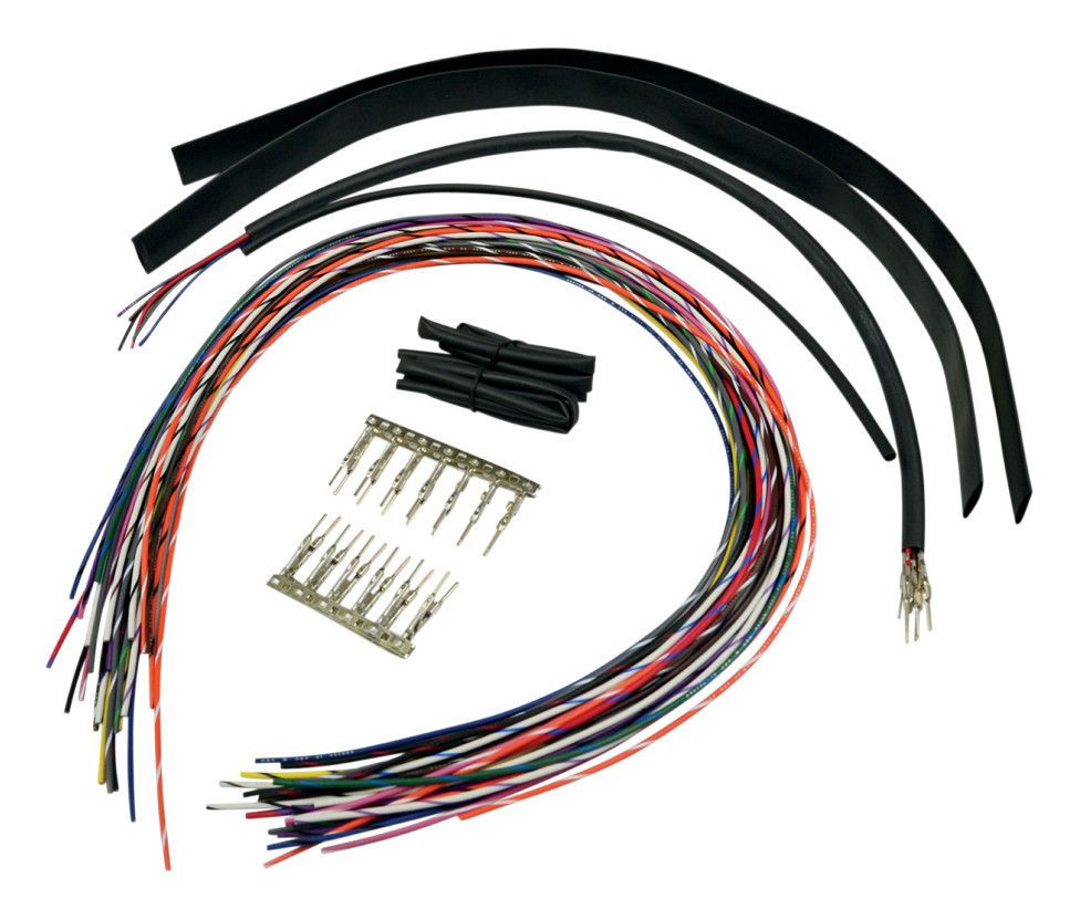 hight resolution of la choppers handlebar extension wiring kit for harley 10 3 49 off