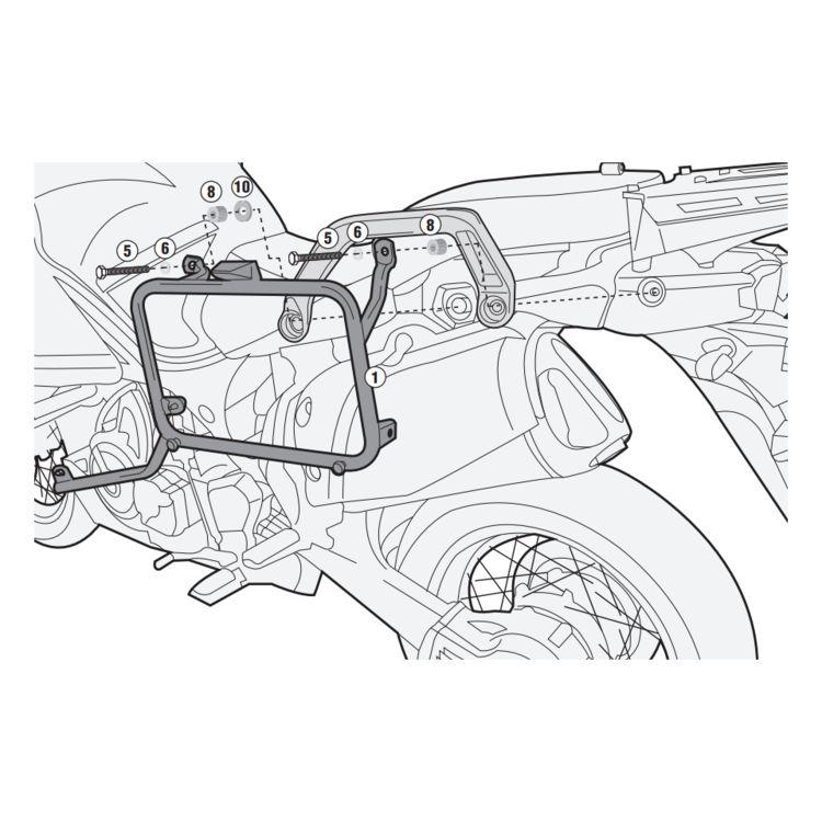 Givi PL2119 / PLR2119 Side Case Racks Yamaha Super Tenere