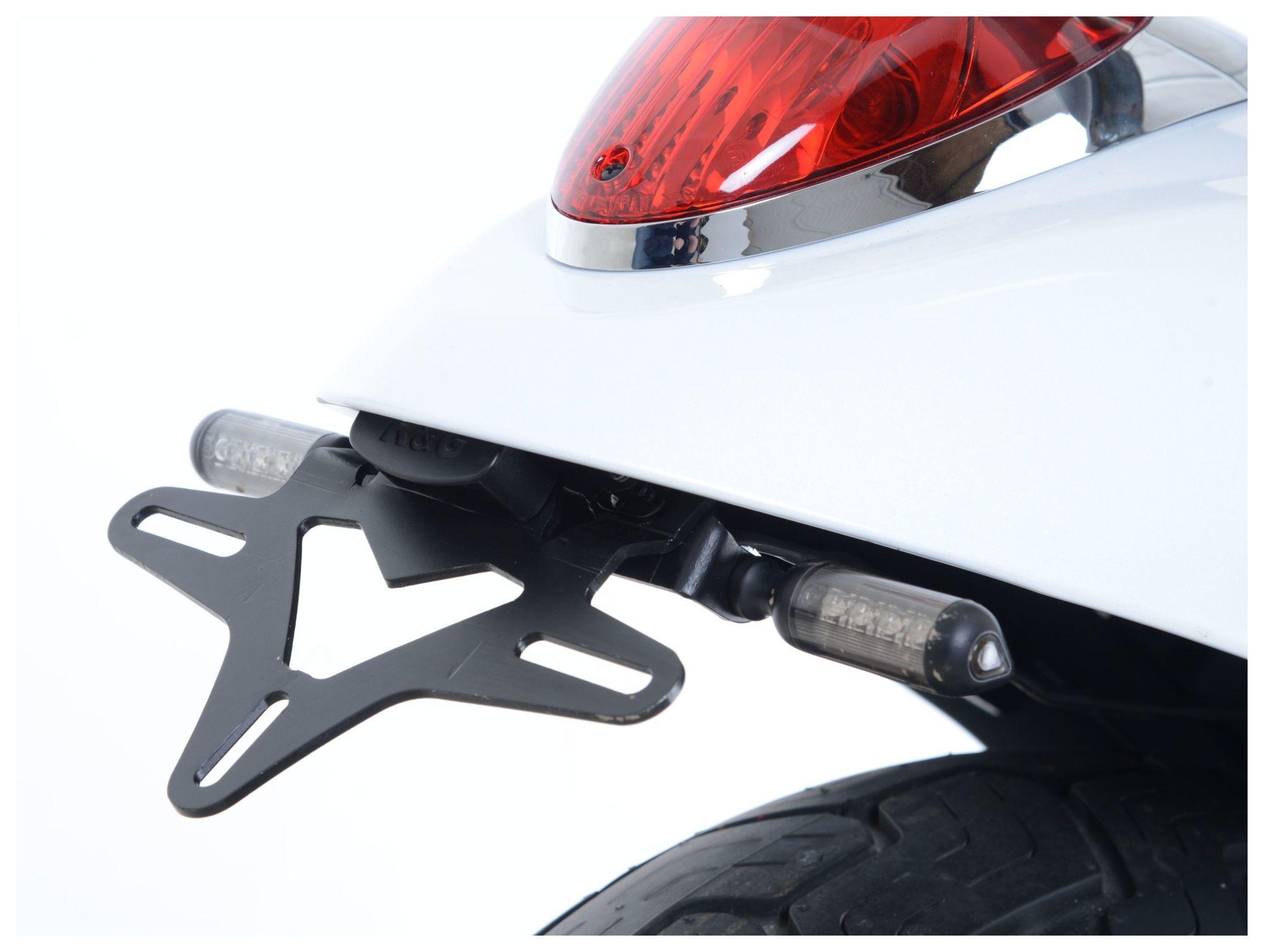 hight resolution of r g racing fender eliminator kawasaki vulcan 900 custom 2012 2019 revzilla