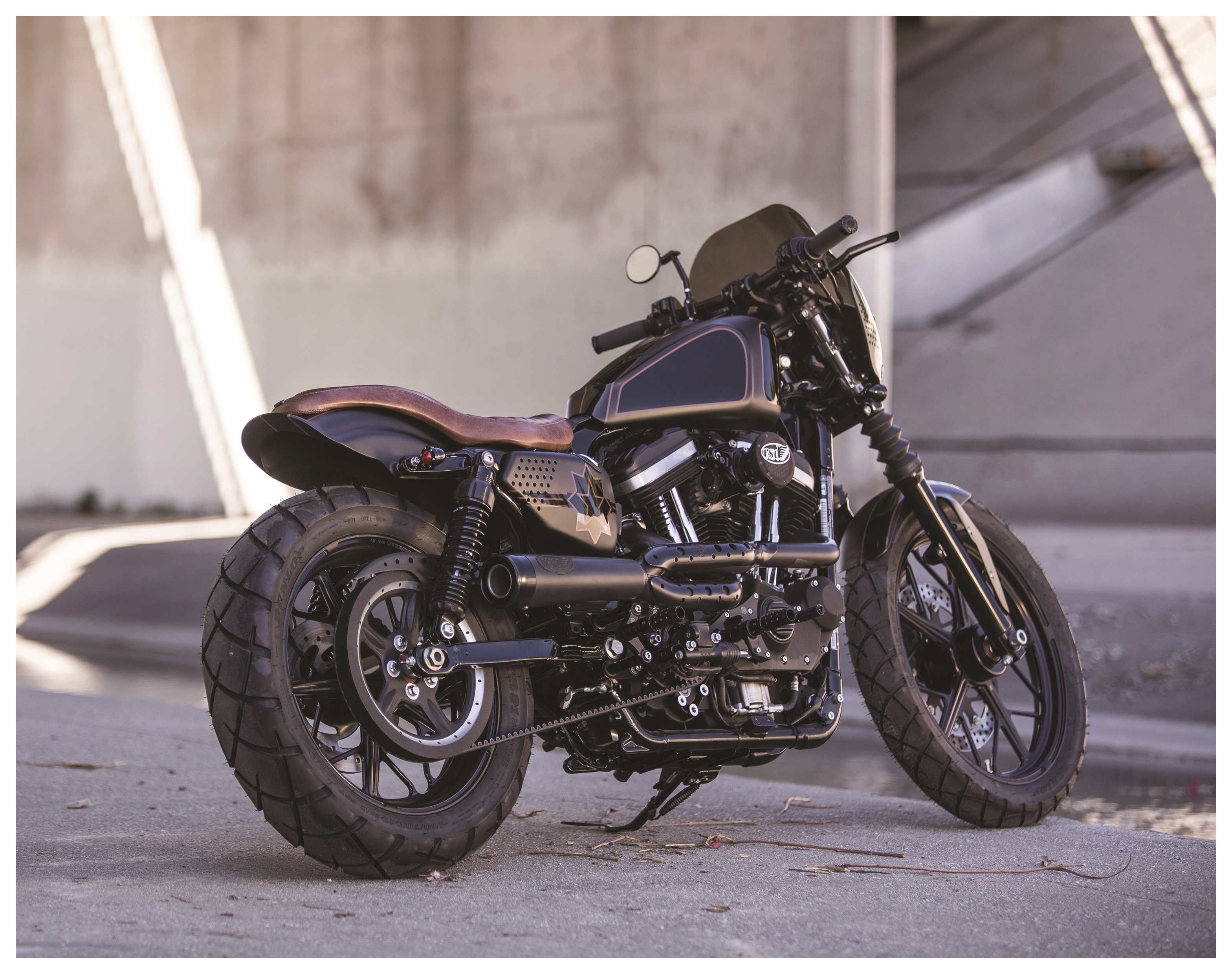 roland sands track 2 into 1 exhaust for