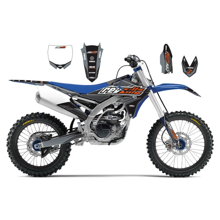 YAMAHA YZ 250F YZ 450F decals stickers graphics kit YZF