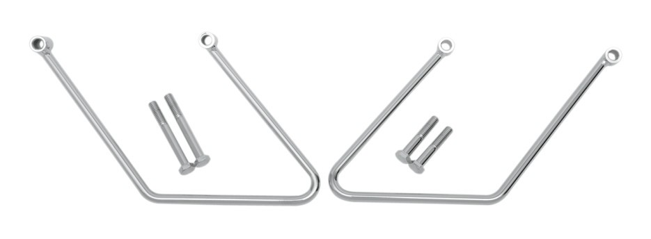 Drag Specialties Saddlebag Support Brackets For Harley