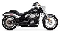 Vance & Hines Big Radius Exhaust For Harley Softail ...