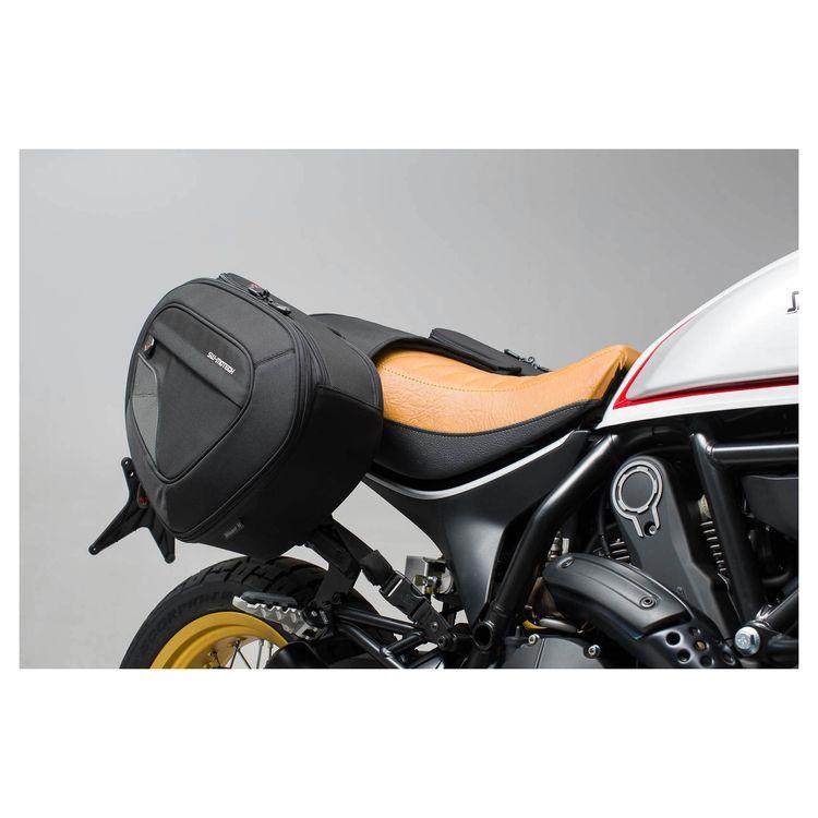 Sw Motech Blaze Saddlebag System Ducati Scrambler Desert Sled 2017 2018