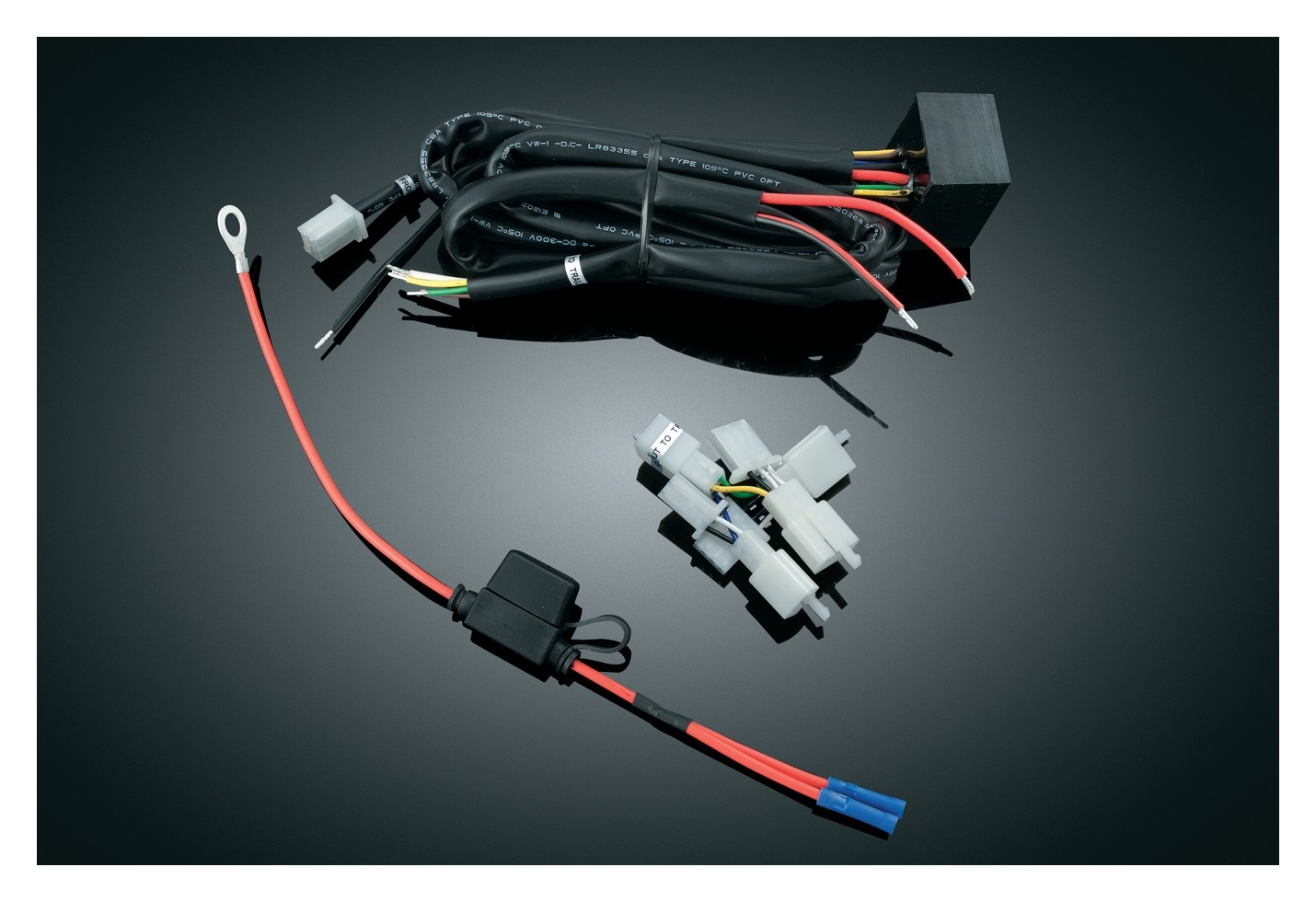 hight resolution of kuryakyn plug and play trailer wiring relay harness for honda goldwing 10 9 20 off revzilla