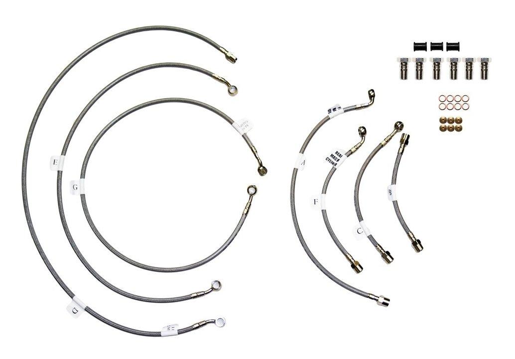 Galfer Complete Brake Line Kit Kawasaki ZX6R / ZX636 ABS