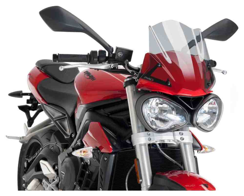 medium resolution of puig naked new generation windscreen triumph street triple 765 s 2017 2018 5 6 99 off revzilla