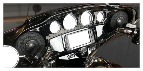 small resolution of wild boar by hogtunes front speakers lids 600 watt amp kit for harley touring 2014 2019 revzilla