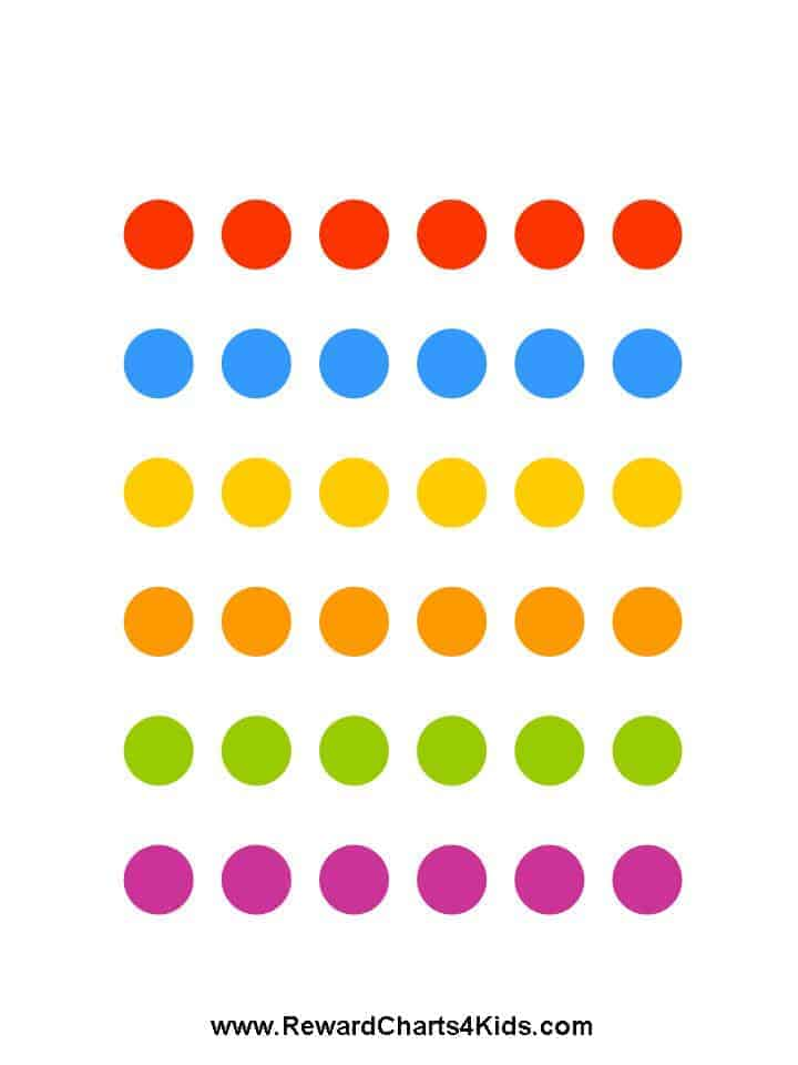 sticker charts to print