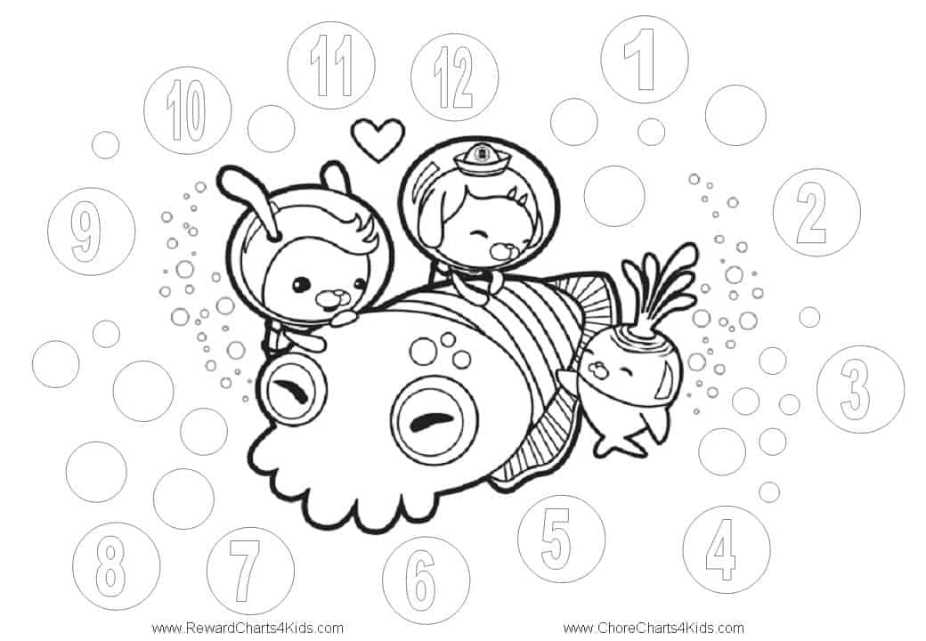 Octonauts Reward Charts