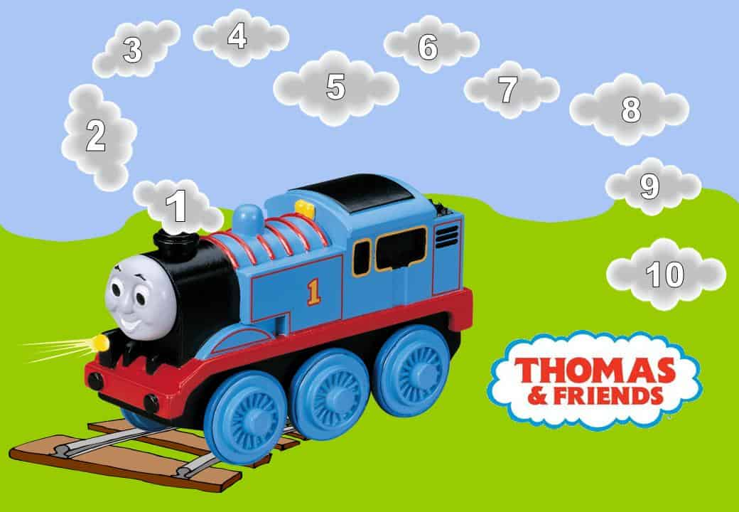 Thomas The Train Reward Chart