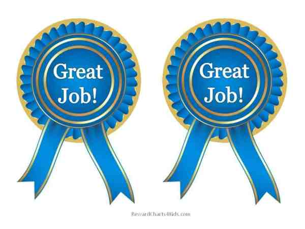"""great job"" printables customize"