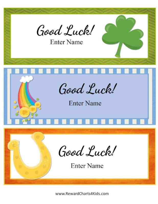 printable good luck cards | Thedoctsite.co