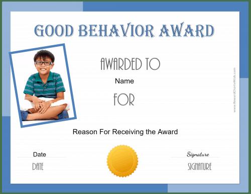 award certificates for kids