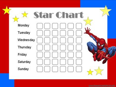 Star Charts for Kids