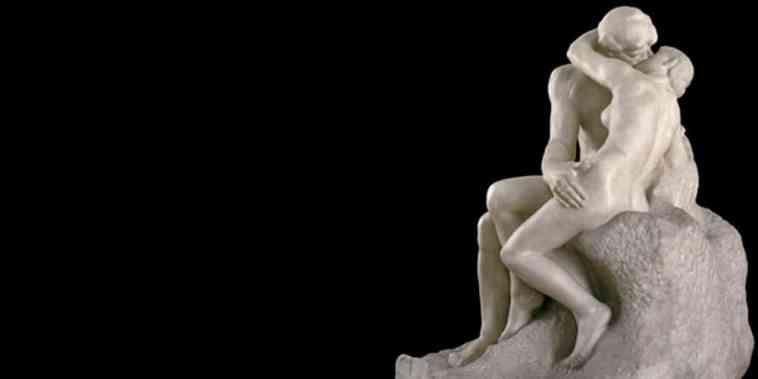 Kiss dening Rodin
