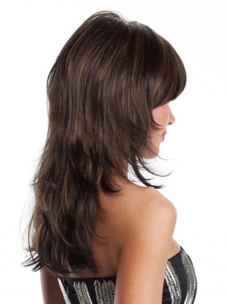 long synthetic layered straight