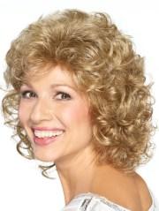 classic curly cut medium synthetic