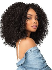 black women's big afro synthetic