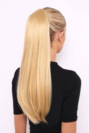 long straight synthetic hair blonde