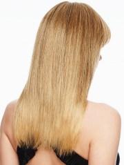 clip in fringe top of head hair