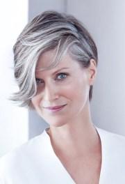 natural short grey hair wigs